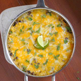 Quinoa Enchilada Casserole.