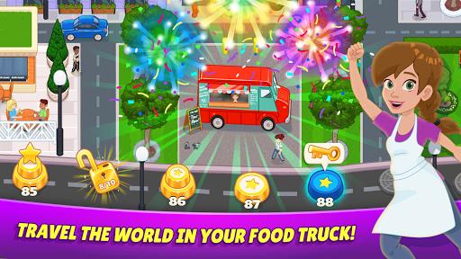 Télécharger Gratuit Kitchen Scramble 2: World Cook APK MOD (Astuce) screenshots 3