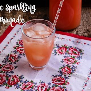 Festive Sparkling Lemonade.