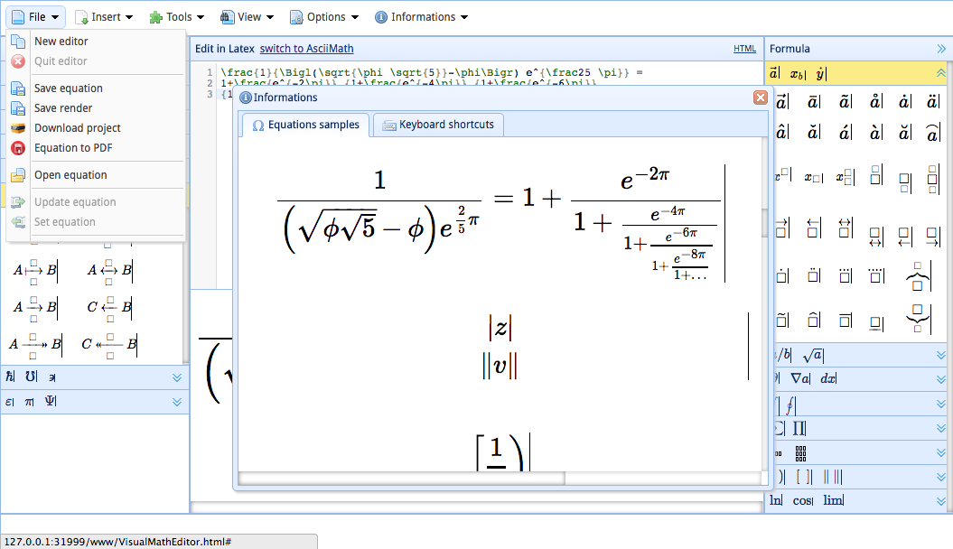Mathtex Pro Tex Editor Android Apps On Google Play