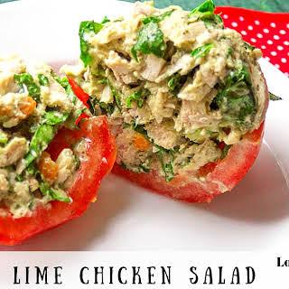 Cilantro Lime Chicken Salad.