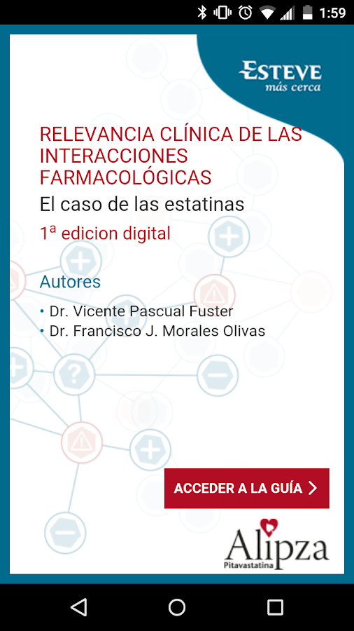 Interacciones estatinas - Android Apps on Google Play