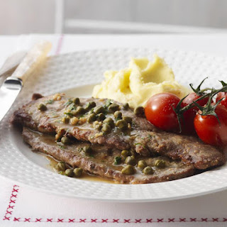 Classic Veal Scaloppine.