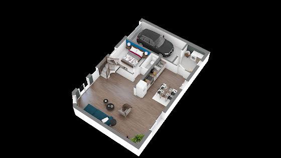 Vente maison 5 pièces 102,37 m2