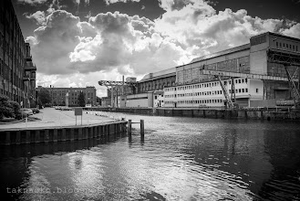 Photo: rzeka Elbląg i kanał Jagielloński - wycieczka PTTK - fot. Dominik Żyłowski