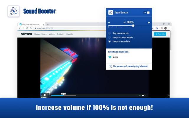 Volume Sound Booster