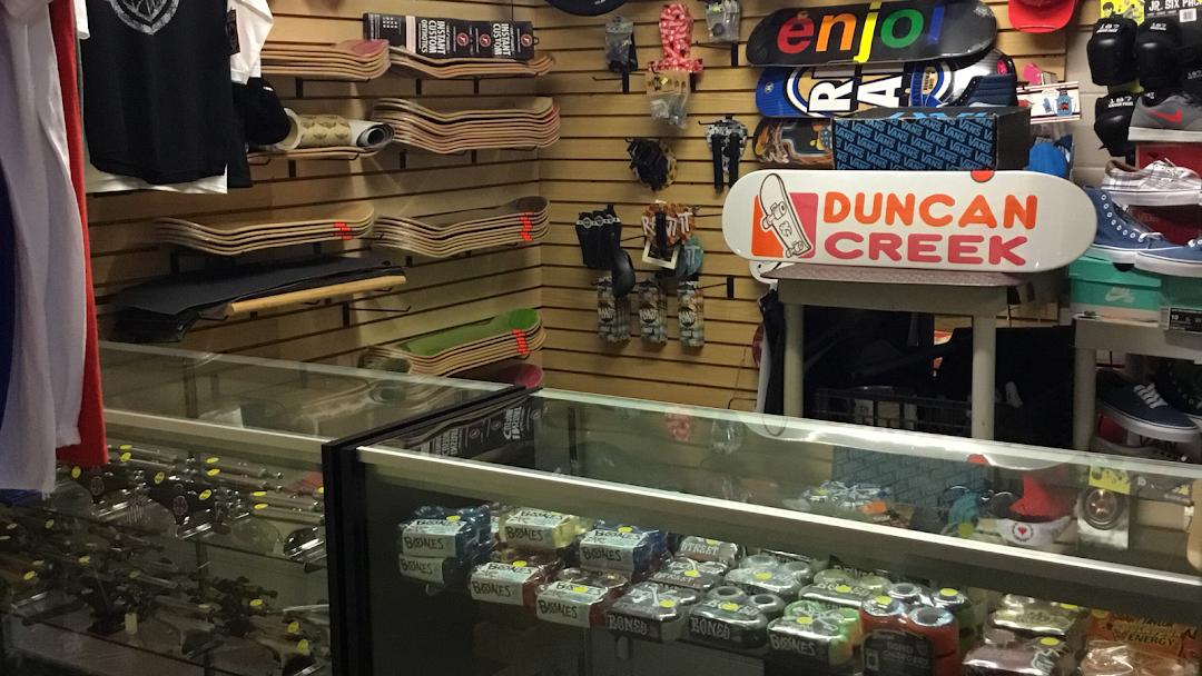 Duncan Creek Skate Shop - Skate f7b3bada8a4