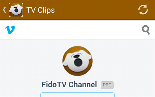 FidoTV- screenshot thumbnail