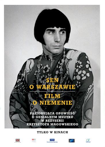 Przód ulotki filmu 'Sen O Warszawie'