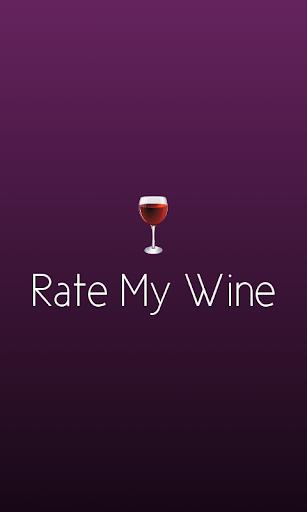 Rate My Wine