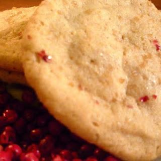 Pink Peppercorn Sugar & Spice Cookies.