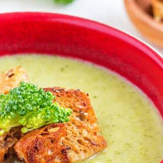 Creamy Broccoli & Celery Soup.
