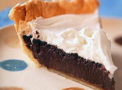 Never Fail Chocolate Fudge Pie Recipe