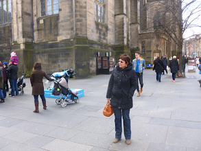 Photo: Visite artère principale Royal Mile