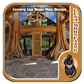 Luxury Log Home Plan Design