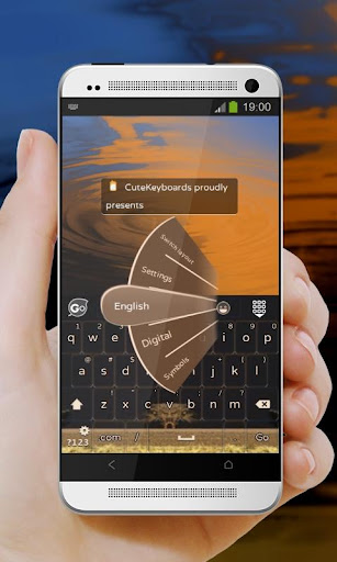 砂漠砂丘 GO Keyboard