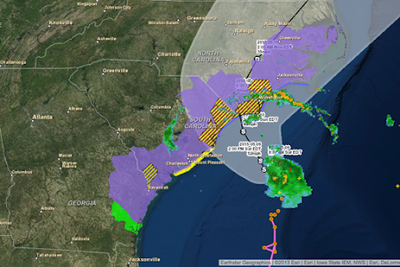 OBX Hurricane Tracker screenshot 0