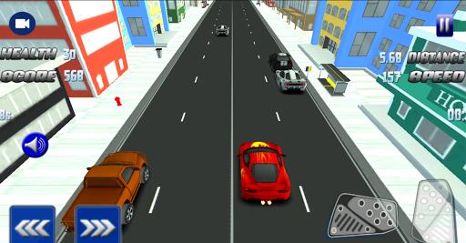 Fast Highway Car Racing 3D