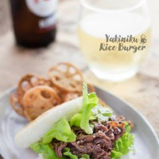 Yakiniku Rice Burger.
