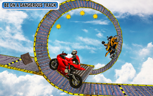 Racing Moto Bike Stunt : Impossible Track Game  captures d'u00e9cran 2