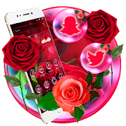 Shiny Red Rose Love Theme
