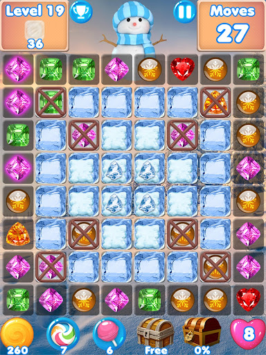 Snowman Swap - match 3 games New match 3 puzzle image | 13