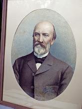Photo: Fridricho Rericho portretas, Nikolajaus Rericho tėvo pusbrolis. Nutapytas 1898m., dailininkas A.Baumanis. (Liepojos muziejaus archyvas, LM14536)