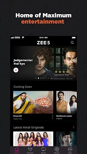 ZEE5 – Movies, TV Shows, LIVE TV & Originals App Download For Android and iPhone 1
