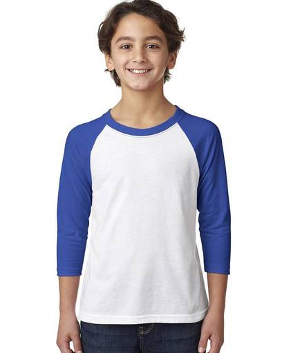 Next Level Youth Raglan Teejpg