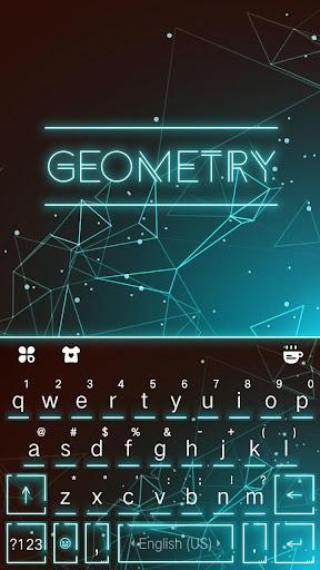 Keyboard - Geometry New Theme 2.0 screenshots 1