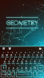 Keyboard – Geometry New Theme 2.0 Mod APK Updated Android 1