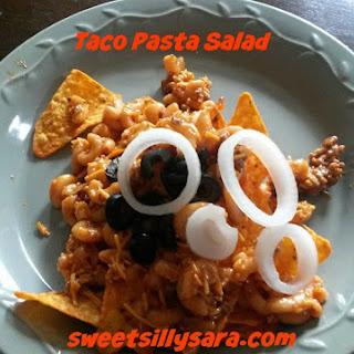 Taco Pasta Salad.