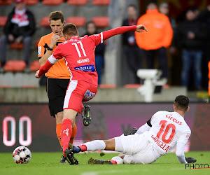 Mehdi Carcela s'excuse pour son tacle à Mouscron