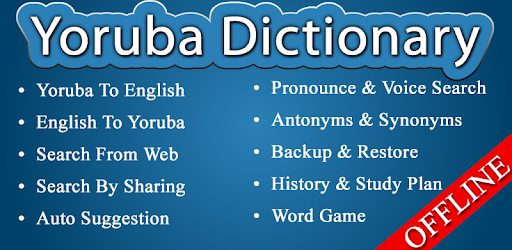 English Yoruba Dictionary - Apps on Google Play