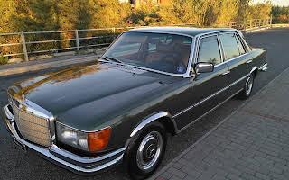 Mercedes Benz 450 Sel Rent Lazio