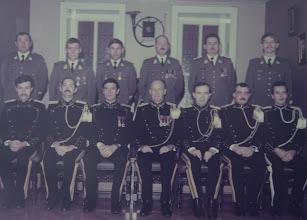 Photo: 15 Nov 1984 Plainchamp, Vandongen, Vermaerke, Van De Velde, Amel, Vandevoorde. Van Hoorebeke, Maes, Van den Borre, Deleers, Driessens, Segers, Delval