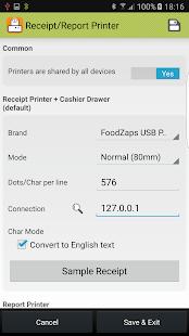USB POS Printer Boost (FoodZaps POS Only)