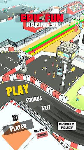 Epic racing-Run fun 3D android2mod screenshots 1