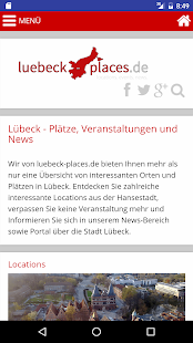 Lübeck Places- screenshot thumbnail