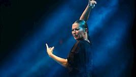 La bailaora Sara Baras durante una actuación