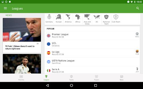 App BeSoccer - Soccer Live Score APK for Windows Phone