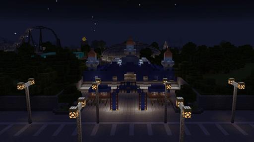 Amusement Park maps for Minecraft PE 2.3.29 screenshots 6
