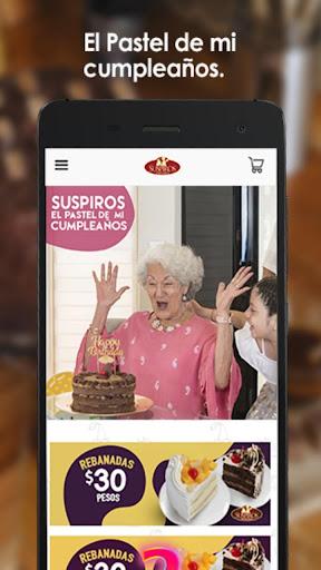 Suspiros Pastelerías screenshot 4