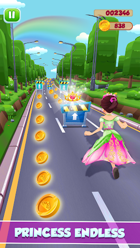 Princess Running Games screenshot 4