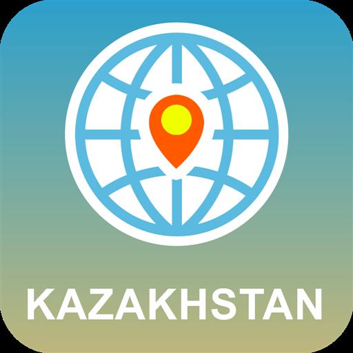 旅游のカザフスタン 地図オフライン LOGO-記事Game