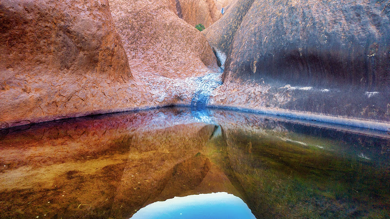Mutitjulu Waterhole di Montevecchi