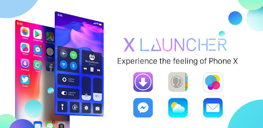 X Launcher for IOS 11: Stylish Theme for Phone X for PC