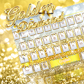 Golden Diamond Keyboard Theme
