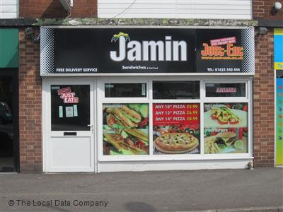 Jamin Pizza House On Parsonage Green Fast Food Takeaway In