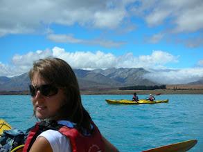Photo: Lake Tekapo, Kayaking